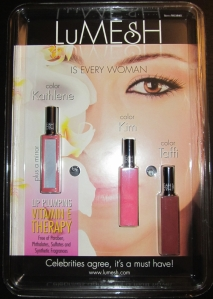 LuMESH lip gloss 3-fer set