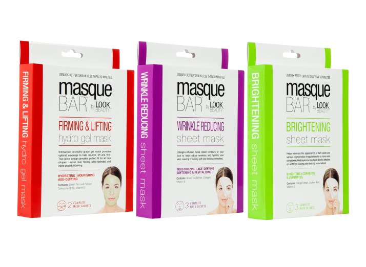 Masque Bar facial masks