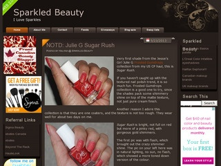 Sparkled Beauty, thumbnail generated 2013-05-23
