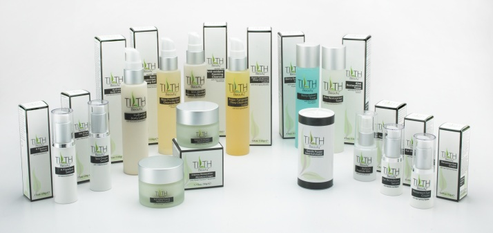 TILTH Beauty skin care collection