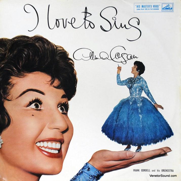 Alma Cogan - I Love to Sing