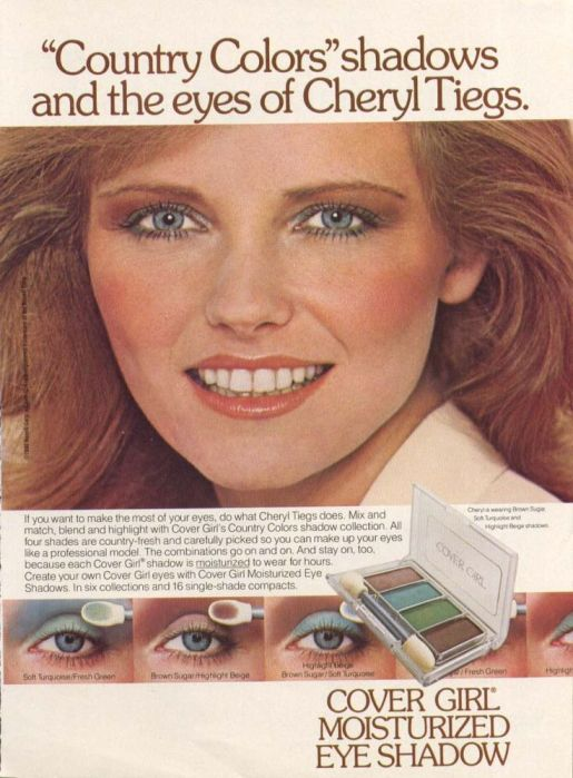Cheryl Tiegs for Cover Girl