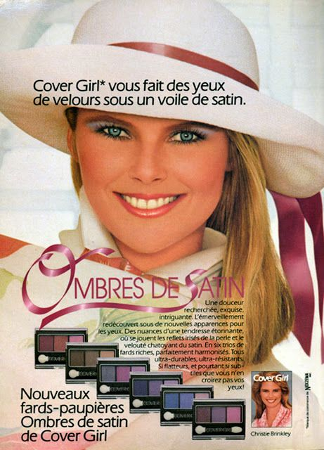 Christie Brinkley for Cover Girl