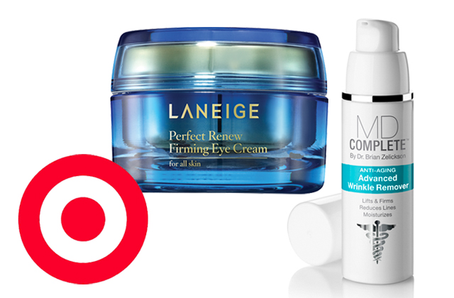 Target introduces high end skin care