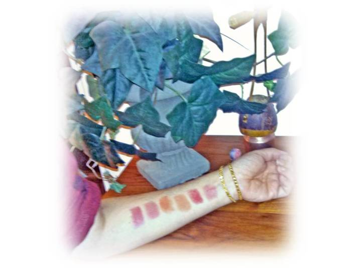 DHC Premium Lipstick GE swatches