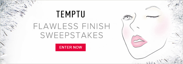 Enter for a chance to win a TEMPTU Signature Starter Kit.