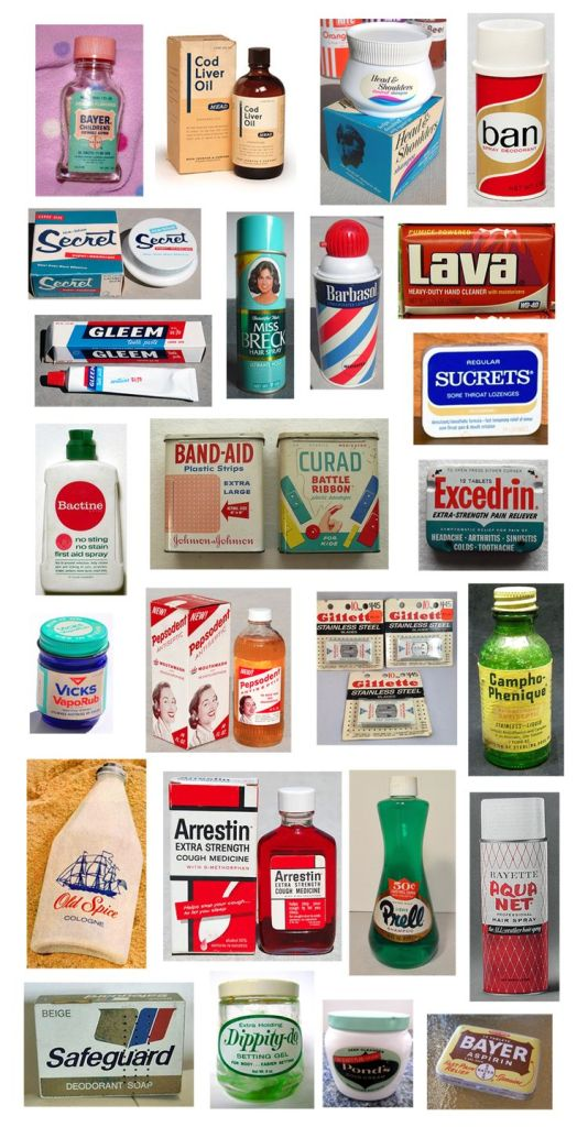 1960s Personal Care Products