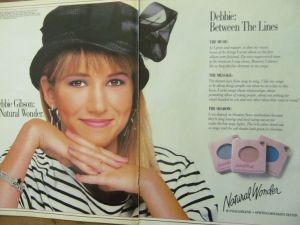 Debbie Gibson for Natural Wonder