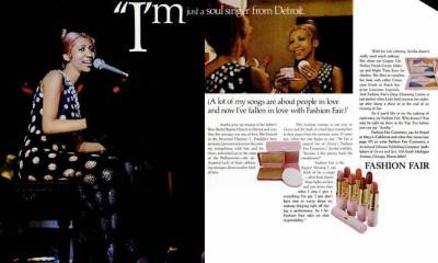 Aretha Franklin for Fashion Fair