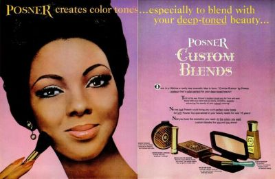 Posner ad from Ebony Magazine, October 1965