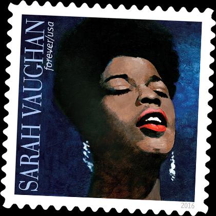 Sarah Vaughan commemorative stamp