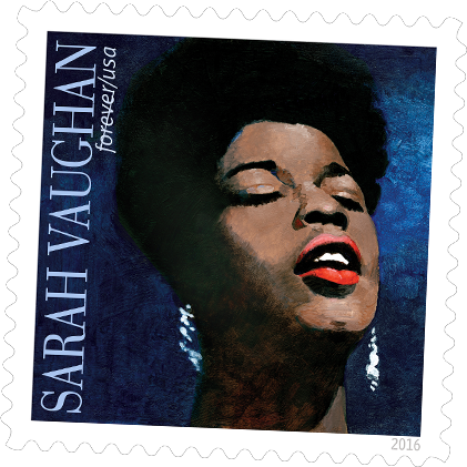Sarah Vaughan commemorative stamp