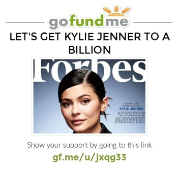 Kylie Jenner on the cover of Forbes