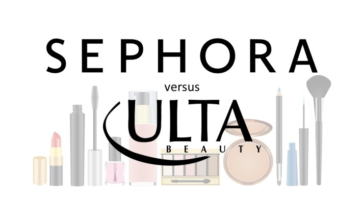 Sephora versus Ulta