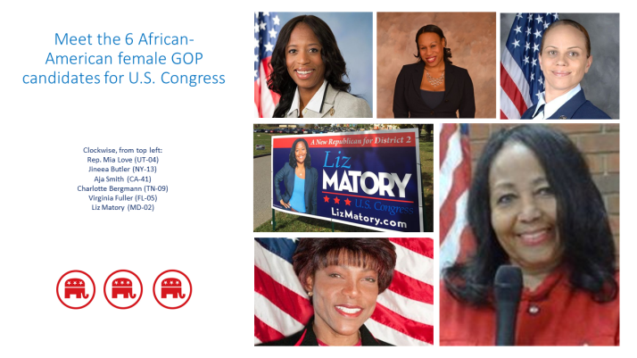 Meet the six black female GOP candidates for Congress