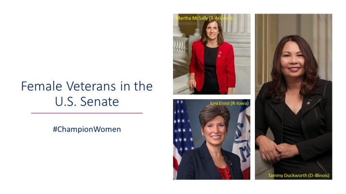 female veterans in congress