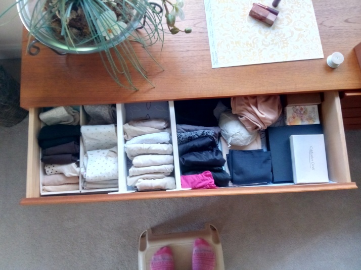 Socks and underwear drawer