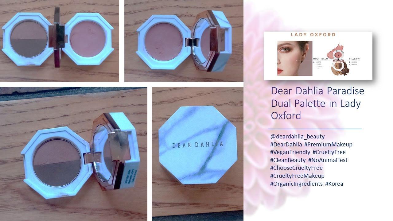 Dear Dahlia Paradise Dual Palette in Lady Oxford